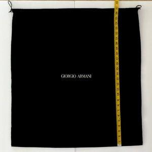 XL GIORGIO ARMANI Dust Satchel Storage Bag.